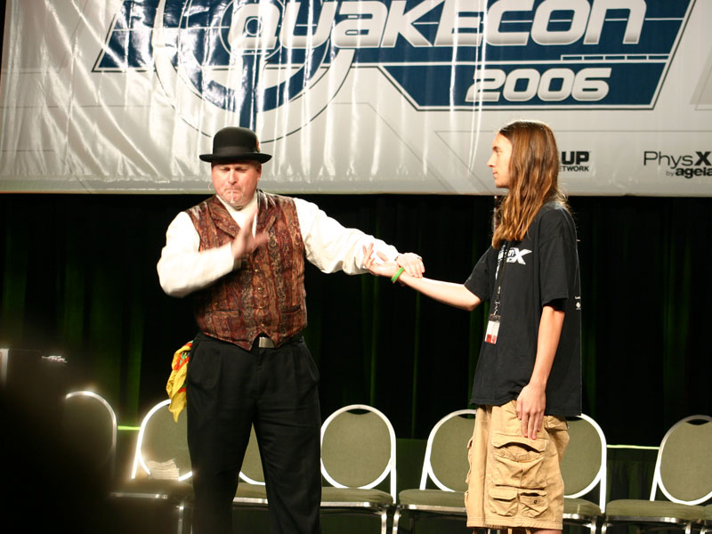Card Tricks at QuakeCon